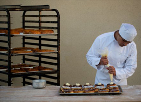 Texas bakery pastry chef