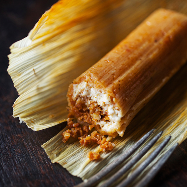 bean and cheese tamales