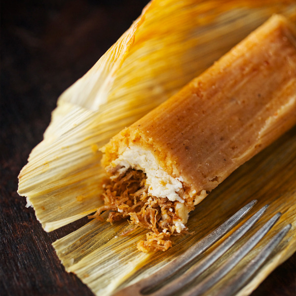 pork and cheese tamales